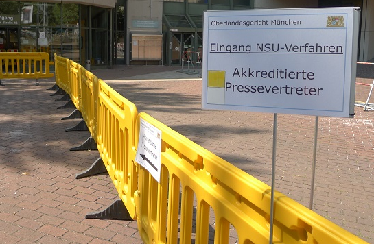 NSU Verfahren Presse