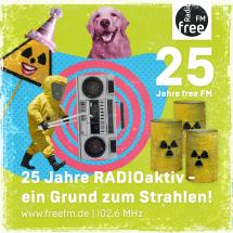 25 Jahre RADIOaktiv - ein Grund zum Strahlen!