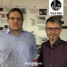 Ein Bild von Ralf Gummersbach und Jürgen Späth in der heutigen Plattform