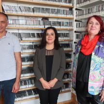 Mustafa Süslü, Gökay Akbulut, Eva-Maria Glathe Braun