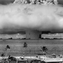Atombombe detoniert.