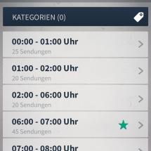 Sendeplan Programm
