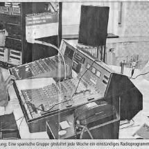 Aus Hörer werden Sender (14.06.2000 Ulmer Wochenblatt): Pablo Martinez Calleja war der Initiator von La Buhardilla