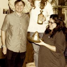 G7 award 2016: Verleihung des G7 Award durch Samuel Rettig an Ana Luz Gallegos und Daniela Ventúiz auf der Mitgliederversammlung 09. März 2016